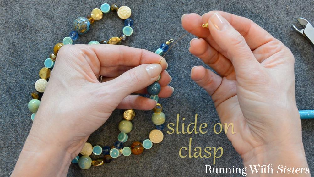 4 How To Shorten A Necklace - Slide On Clasp