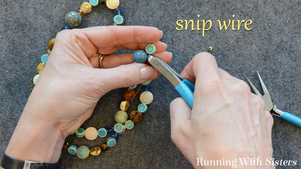 7 How To Shorten A Necklace - Snip Wire