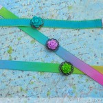 How To Make A Ribbon Bracelet