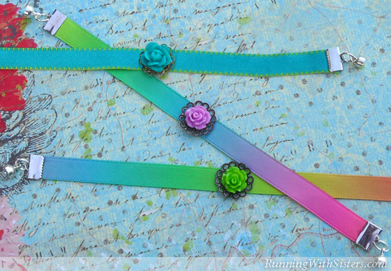 How To Make A Ribbon Bracelet
