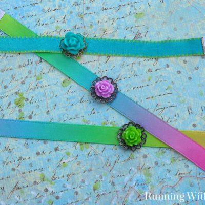 Turn a Ribbon Into A Bracelet Pinterest
