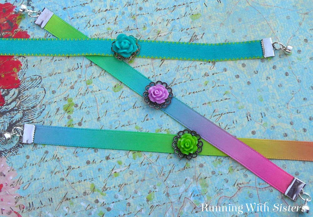 Turn a Ribbon Into A Bracelet Pinterest