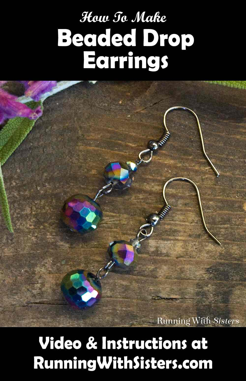 Beaded Drop Earrings Pinterest