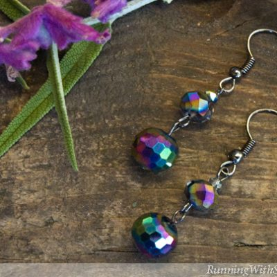 How To Make Beaded Drop Earrings