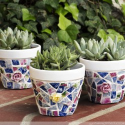 How To Mosaic With Broken China RWS