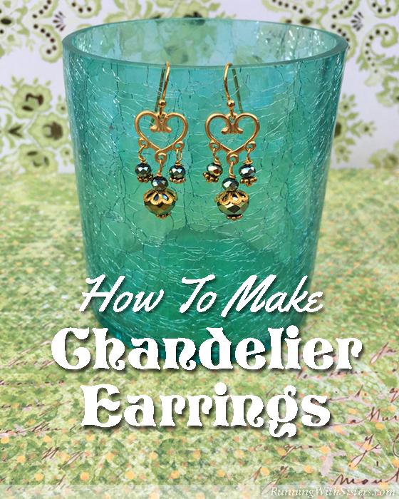 Beaded Chandelier Earrings - Running With Sisters