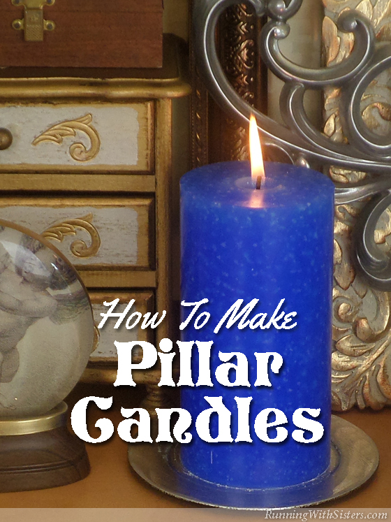 How To Make A Pillar Candle