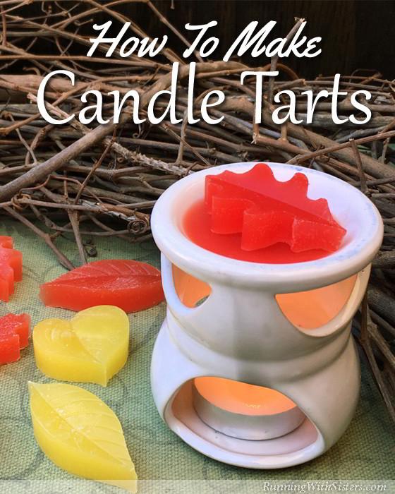 Leaf Candle Tarts