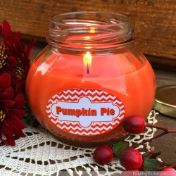 Pumpkin Pie Candle In A Jar