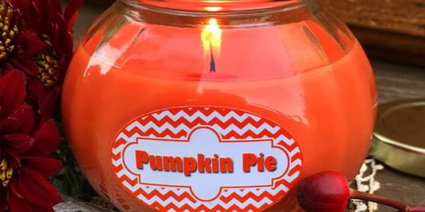 Pumpkin Pie Candle In A Jar