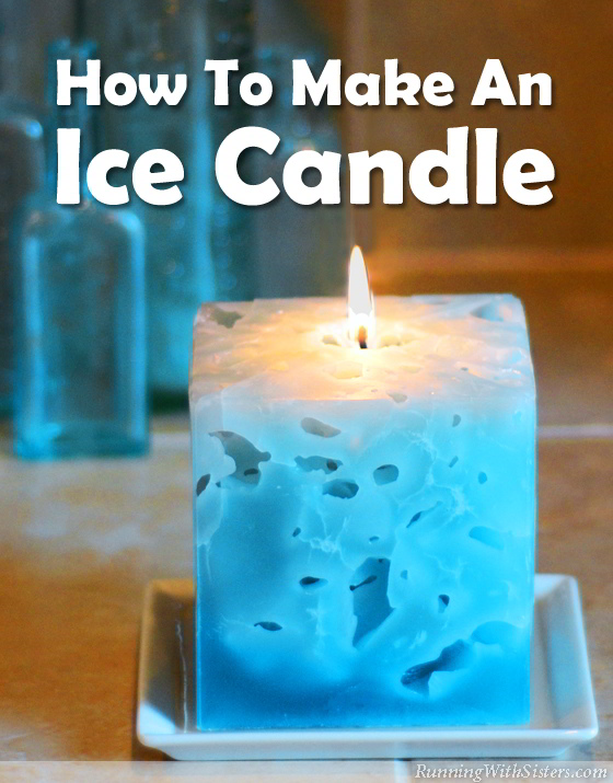 Ice Candles are amazing to look at and even more fun to make. You pour hot wax right over ice cubes! The ice melts away and leaves holes inside the candle.