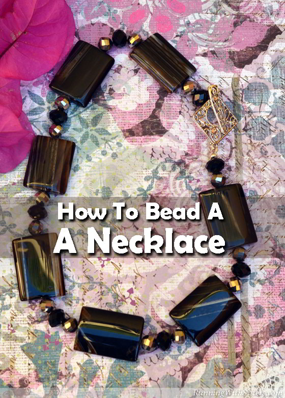 Want to try something new? Learn to bead a necklace. We'll show you how to string the beads on bead stringing wire and how to attach the clasp!