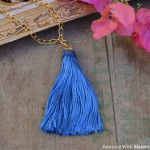 How To Make An Easy Tassel Necklace