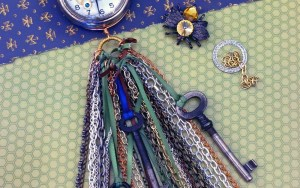 Steampunk Pocket Watch Tassel