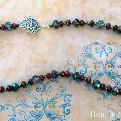 Learn To Make Jewelry: Beautiful & Easy Beaded Necklace
