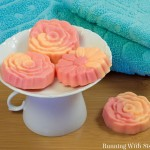 Make Your Own Swirled Guest Soaps
