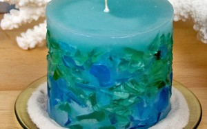DIY Candle Making: How To Make A Sea Glass Candle