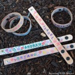 Kid Craft: Stamped Leather Wrist Wrap