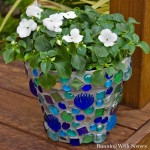 How To Mosaic A Terra Cotta Pot
