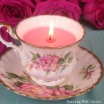 How To Make A Vintage Teacup Candle
