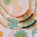 How To Make A Crystal Bar Necklace