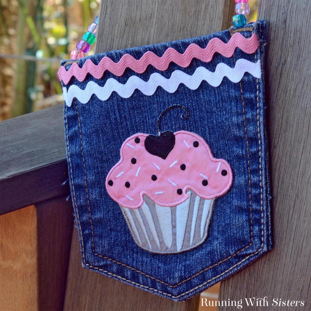 Cupcake Pocket Purse