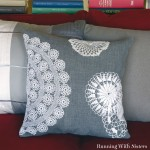 Vintage Lace Doily Pillow