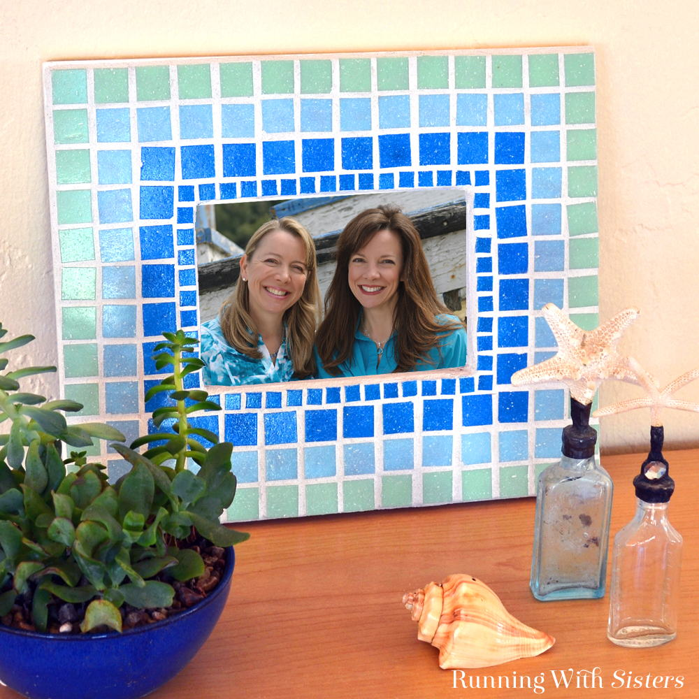 Mosaic Picture Frame Square