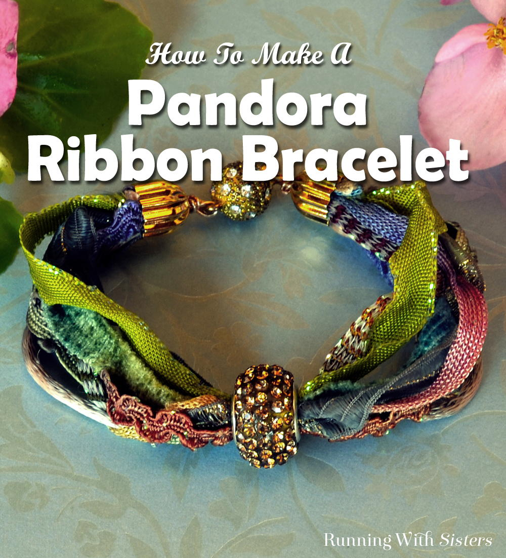 Make An Elegant Pandora Ribbon Bracelet Using Ss And A Bead Watch Our