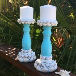 How To Make Seashell Candlesticks