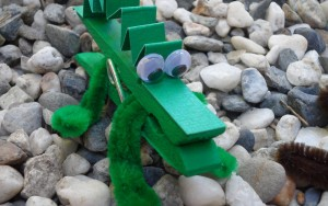 Kid Craft: Clothespin Alligator, Snake, and Turtle