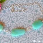 Peruvian Opal Gemstone Necklace