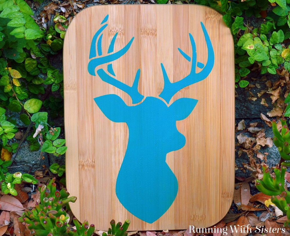 How To Stencil Stag Plaque