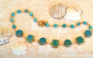 Mermaid Treasure: How To Make A Wirework Necklace
