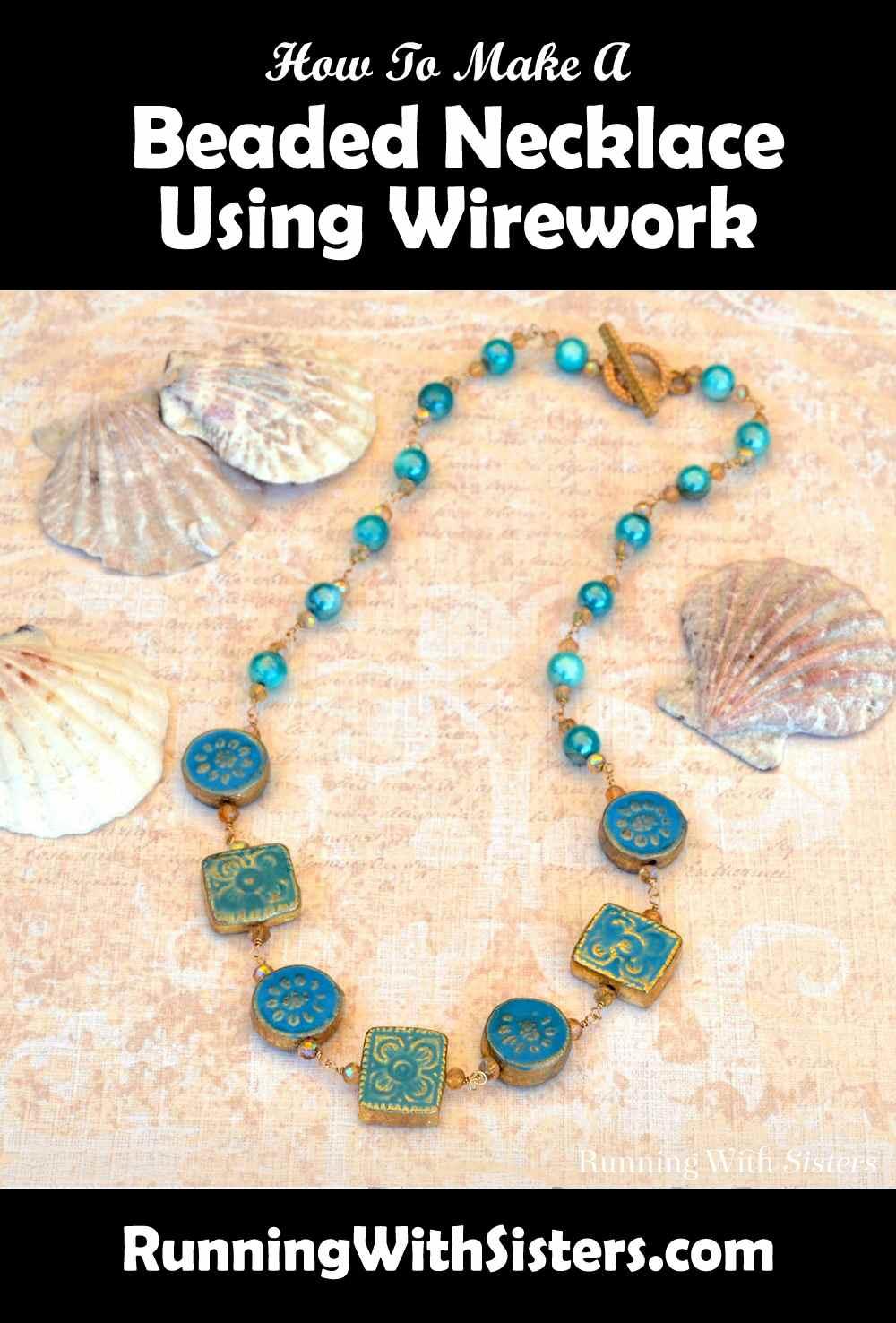 Mermaid Wirework Necklace