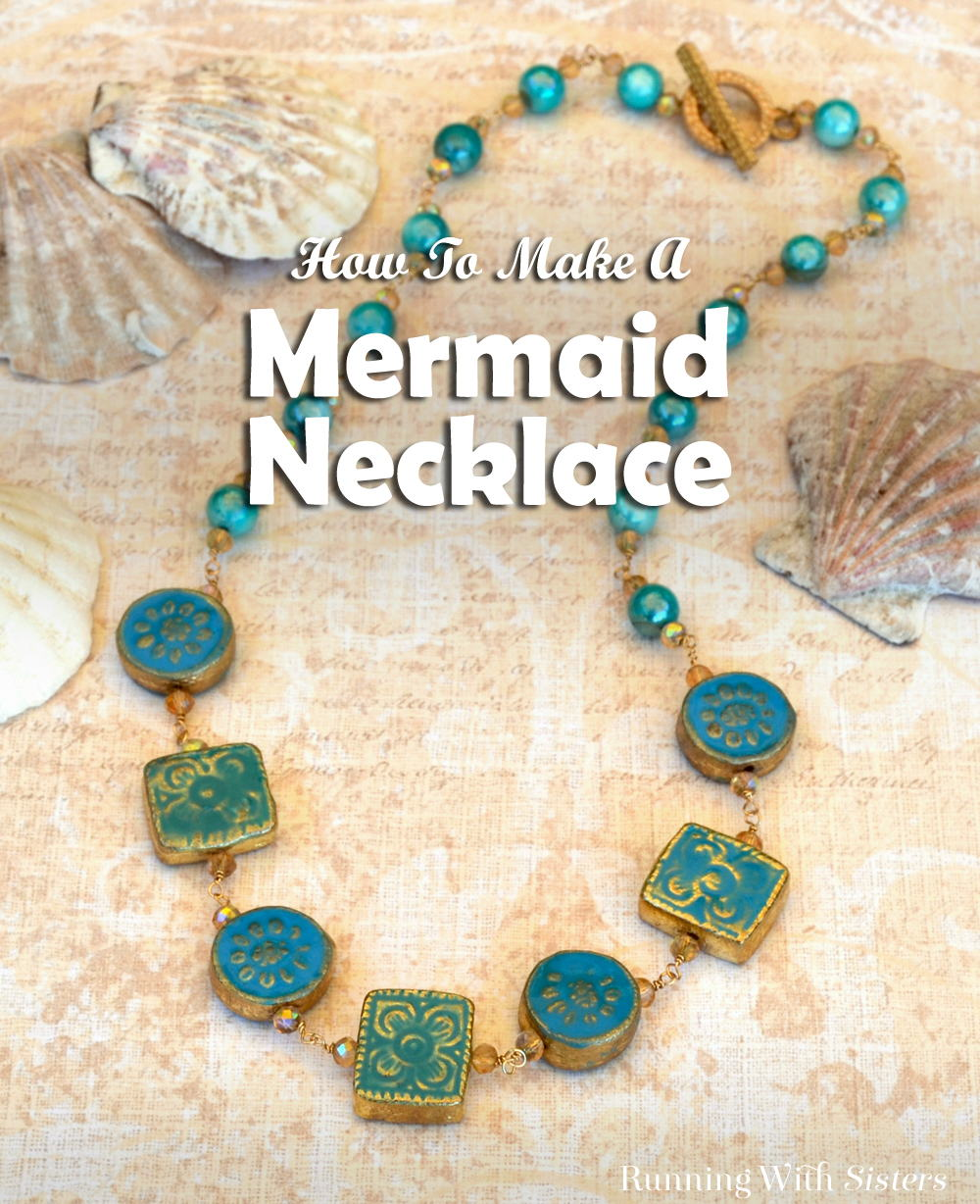 Learn to make a wirework necklace with beaded components. We'll show you how to make the wrapped loops and put on the clasp.