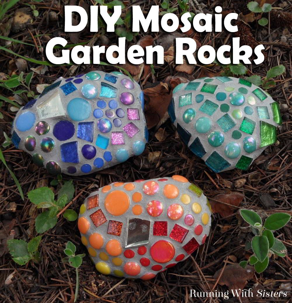 How To Make Mosaic Garden Rocks