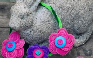 Kid Craft! Pipe Cleaner Flowers Ring And Necklace
