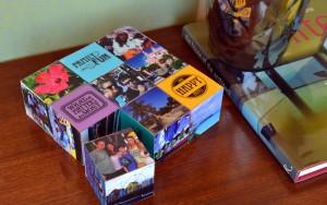 Mod Podge Photo Cubes