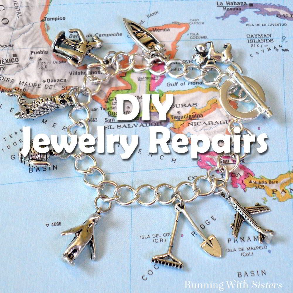 Learn to fix your broken jewelry with this DIY jewelry repair round-up! We'll show you how to shorten a necklace and convert clip-on earrings!