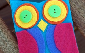 Kid Craft! Hoot Owl Cell Phone Sleeve