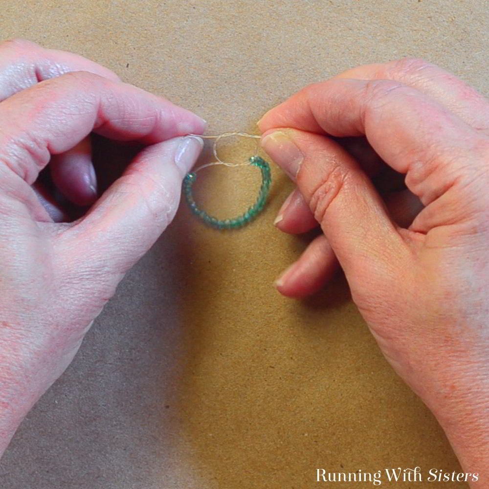 Learn to make a stack of easy beaded rings. We'll show you how with a step by step jewelry tutorial and a video!