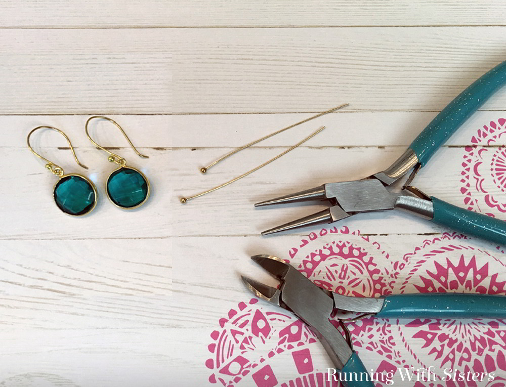 Learn to make your own DIY earring wires with this video and step by step jewelry making tutorial. Making earrings is fun and easy!