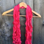 How To Make A T-Shirt Scarf