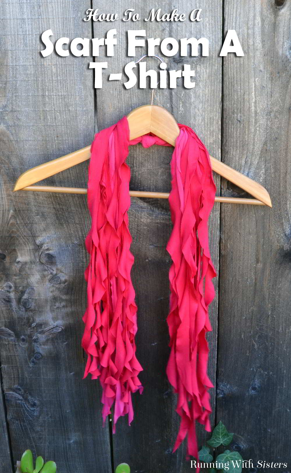 Here's a fun DIY that makes a great gift! Turn a t-shirt into a flowy scarf! All you need is a t-shirt and scissors. It's super easy and we'll show you how!