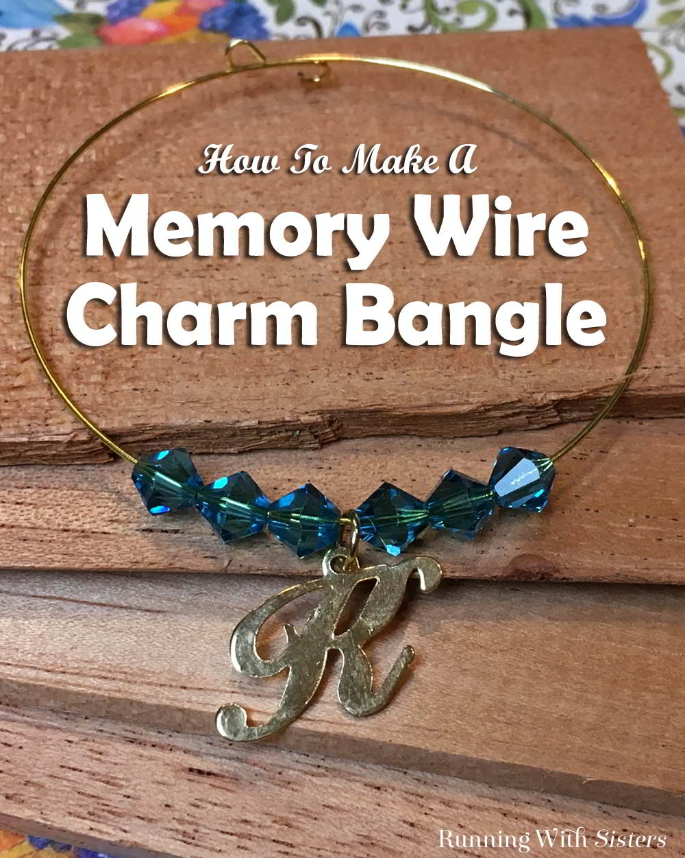 Charm Bangles are all the rage. They are easy to make and easy to wear! You can make them in just four simple steps. We'll show you how.