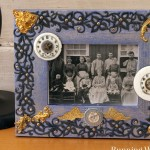 Steampunk Chic Picture Frame
