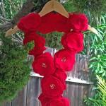 How To Make A No-Sew Felt Rose Scarf