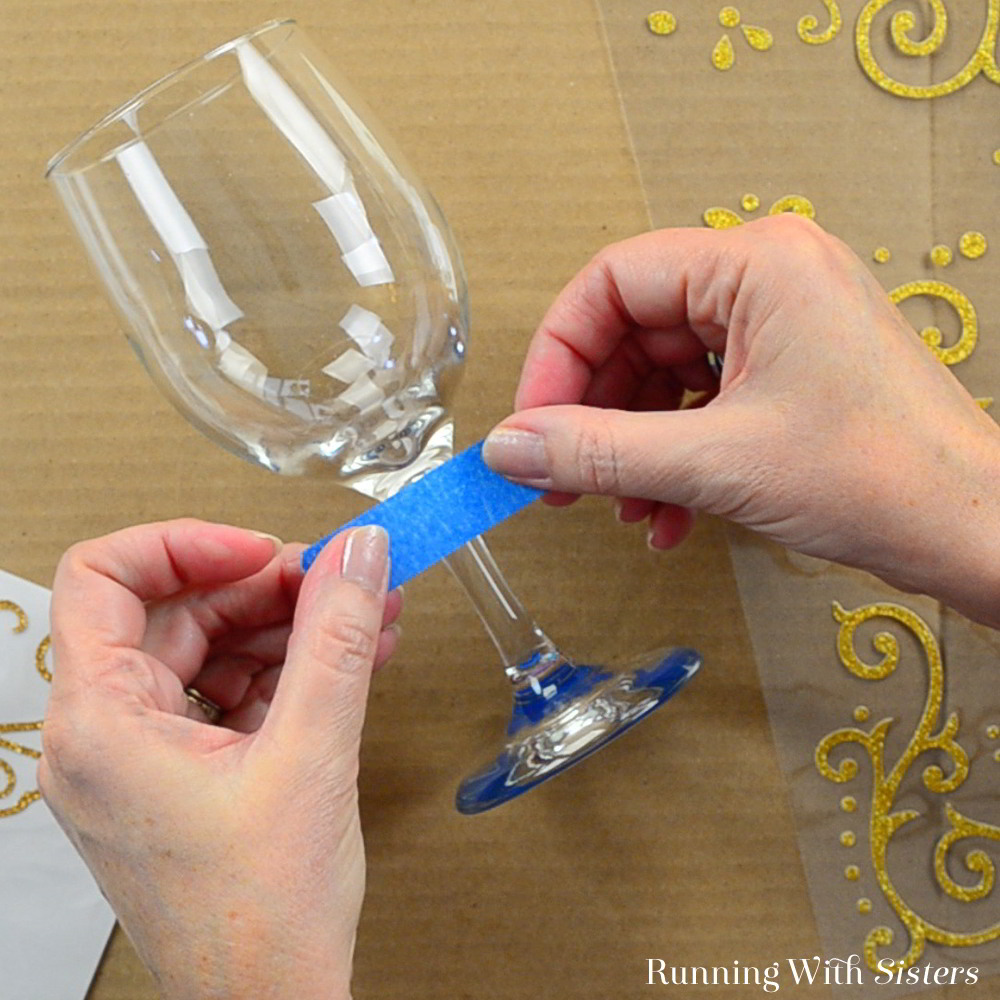 Etch wine glasses with a custom design to make a great gift! We'll show you how with this glass etching tutorial and video.