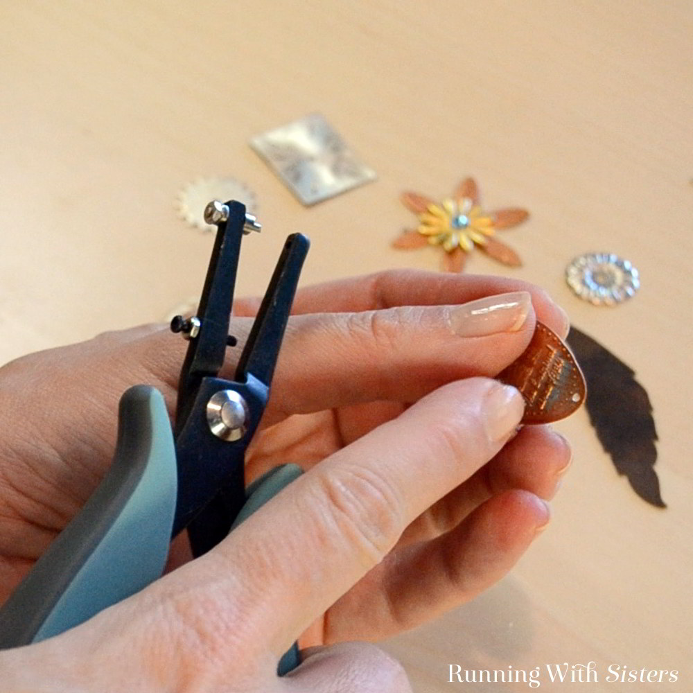 Learn to use metal hole punch pliers to punch holes in metal for jewelry. Make a souvenir pressed penny necklace. Our video will show you how!